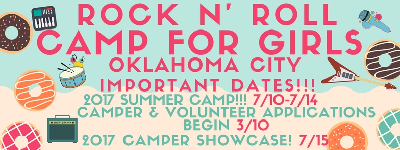 Rock and Roll Camp for Girls OKC